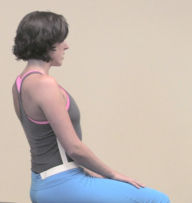 A correctly aligned Relaxed Posture is a sustainable ergonomic posture